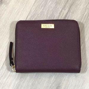 Kate Spade Darci  Zip Around Small Wallet